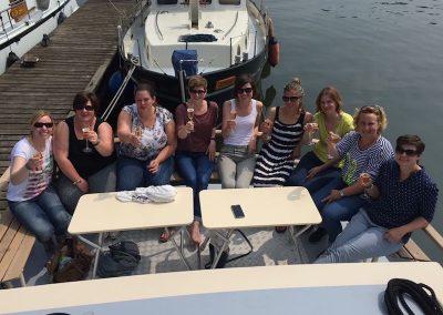 vriendinnen-feestje-boot